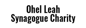 Ohel Leah Synagogue Charity